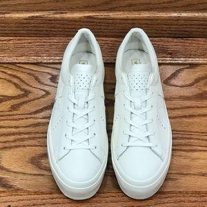 Converse Shoes - Converse One Star Platform Ox Egret White Gold 5c625e6be
